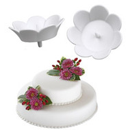 Cake Flower Display Cups 3ct Wilton