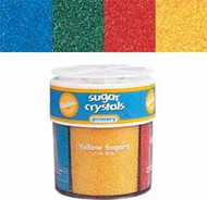 Primary Sugar Crystal Sprinkles 4-Mix Wilton