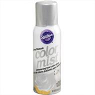 Silver Color Mist Food Color Spray