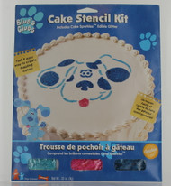 Blue Clues cake stencil kit