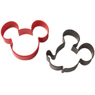 2 pc. Mickey Mouse Cookie Cutter Set Wilton
