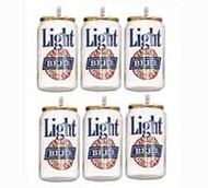 Beer Can Candles 6ct Wilton