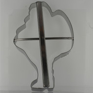 "Santa 8"" cookie Cutter"