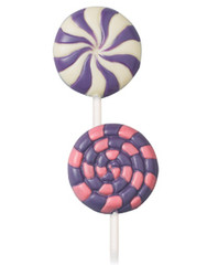 Pinwheel Large Lollipop Mold Wilton