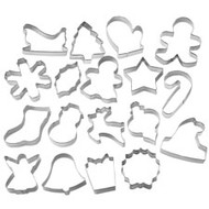 Holiday Metal Cutter Set 18 Pc. Wilton