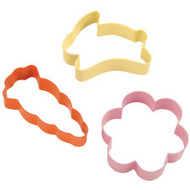 Colored Spring Cookie Cutter Set/3  Wilton
