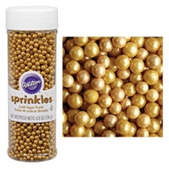 Wilton Gold Sugar Pearls