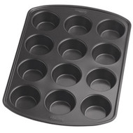 Recipe Right Mini Muffin Pan 12 Cup Non-Stick Wilton