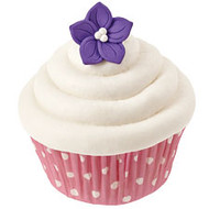 Icing Deco Purple Posey X 12