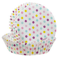 Baking Cup Multi Dot 24 CT Wilton