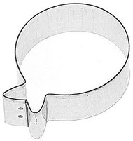 COOKIE CUTTER BALLOON 3 IN.