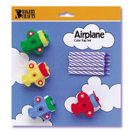 CANDLE SET AIRPLANE 4 CT