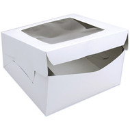 CAKE BOX CORRUGATED WINDOW 12 X 12