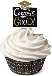 CUPCAKE COMBO SETS GRADUATING 24 CT