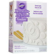 FONDANT DECORATOR PREFERRED WHITE 24.OZ.
