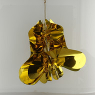 Gold foil 6.5 inch bell