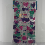 Part treat bag Pastel hearts 5.25x11