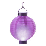 lantern fabric purple