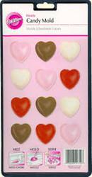 MOLD HEARTS 15 CAVITIES WILTON