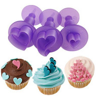 fondant Mini heart  cut-outs