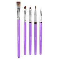 BRUSH SET DECORATING 5 PIECE