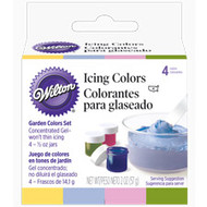 ICING COLOR SET GARDEN COLORS