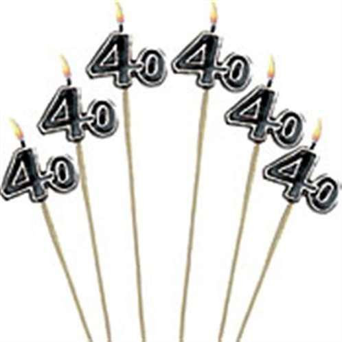 40th Pick Candles