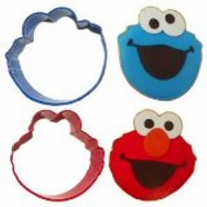 COOKIE CUTTER SET SESAME STREET