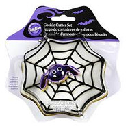 COOKIE CUTER SET SPIDER WEB