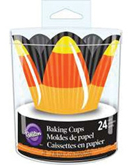 BAKING CUPS CANDY CORN PETAL 24CT