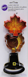 COOKIE CUTTER SET THANKSGIVING 3PC