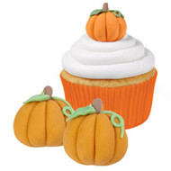 ICING DECO  PUMPKIN 12 CT