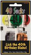 SUCKERS 40TH BIRTHDAY