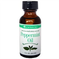 CANDY FLAVOR PEPPERMINT OIL 1 OZ