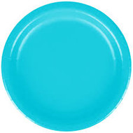 PLATES 7 in. BERMUDA BLUE 24 CT