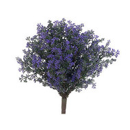 "BERRY BUD BUSH 15"" PURPLE"