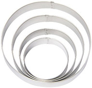 COOKIE CUTTER CIRCLE SET METAL