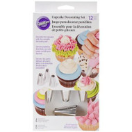 CUPCAKE DECORATING SET 12PC