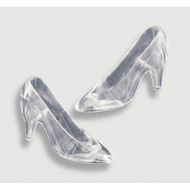 FAVORS HIGH HEELS CLEAR ACRYLIC 12 CT