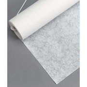 AISLE RUNNER WHITE FLORAL LACE 75 FT