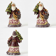 HWC4053682 GIVE KINDNESS VICTORIAN SANTA WITH TREE