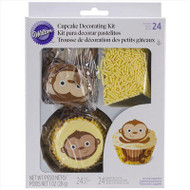 CUPCAKE DECO KIT MONKEY 48 CT.