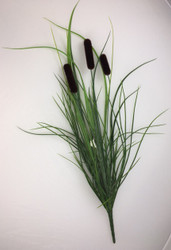 "CATTAIL BUSH 28"" GREEN"