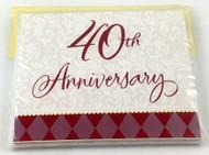 INVITATIONS 40TH ANNIVERSARY