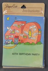 INVITATIONS 40TH BIRTHDAY