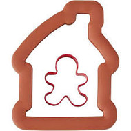 COOKIE CUTTERS COMFORT GRIP GINGERBREAD HOUSE  2 PC