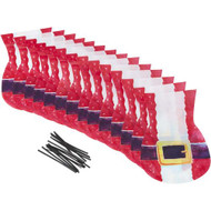 PARTY TREAT BAGS SANTA BELT