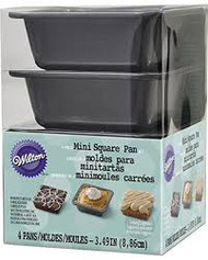 PAN SQUARE 4 PIECE MINI NON-STICK