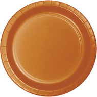 PLATES 9 IN. PUMPKIN SPICE 24 CT.