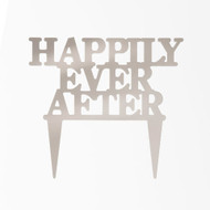 CAKE TOPPER HAPPILY EVER AFTER MIRROR